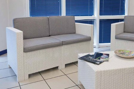 Salotto in rattan sintetico in offerta da 199 per for Poltrone in rattan