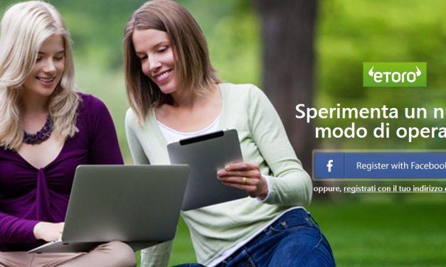 eToro per investire online con il Social Investment Network