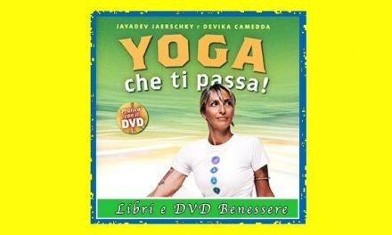 Libro con dvd Yoga che ti passa, mal di schiena addio