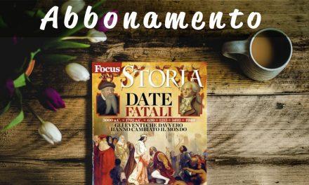 Abbonamento Focus Storia offerte per rispamiare