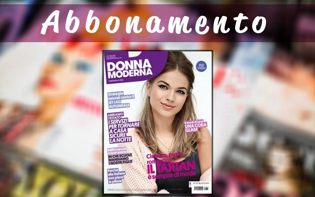 Abbonamento Donna Moderna offerta di 1 anno sulla rivista più letta