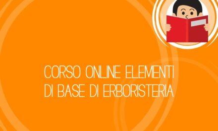 Corso online Elementi di base di Erboristeria
