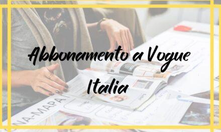 Abbonamento a Vogue Italia  in offerta