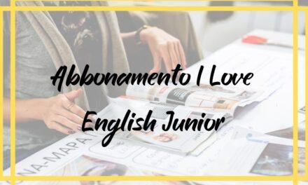 Abbonamento I Love English Junior offerte
